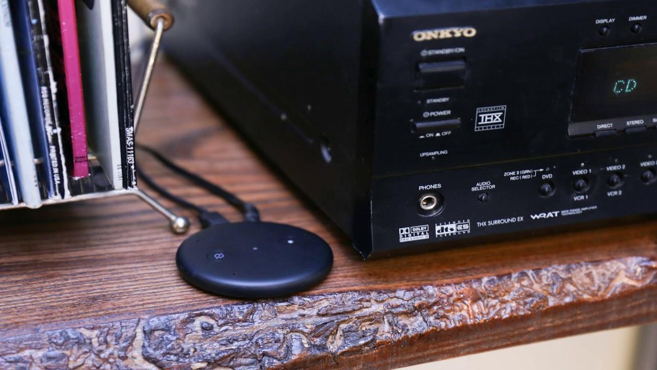 Amazon Echo Input: disponibile in Italia il device che porta Alexa sugli speaker tradizionali thumbnail