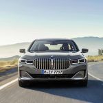 BMW Serie 7 front