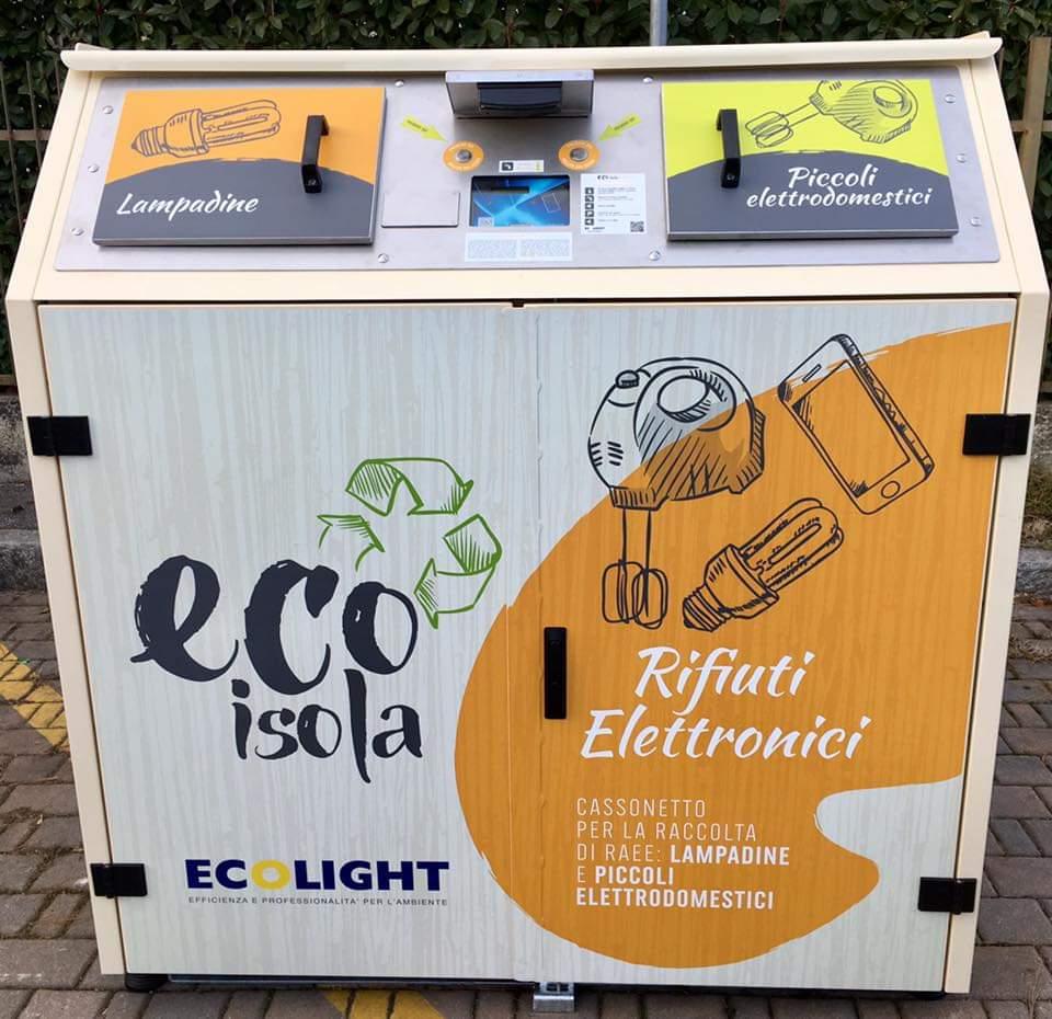 Ecolsole: raddoppiano a Milano i cassonetti RAEE intelligenti thumbnail