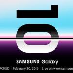 Evento S10 Samsung