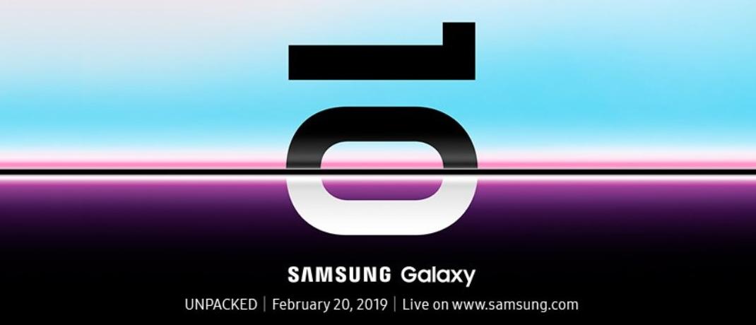Samsung rivela la data di lancio del Galaxy S10 thumbnail
