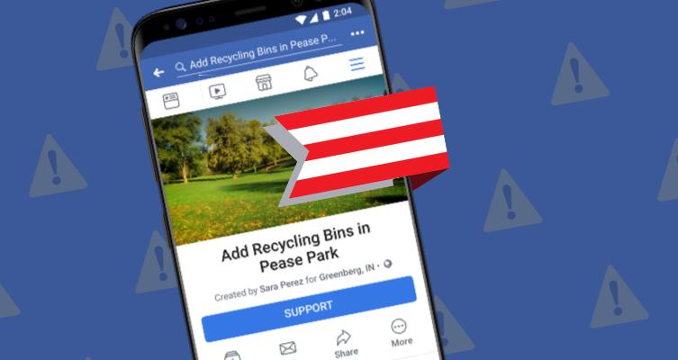 Facebook: il suo prossimo campo di battaglia è la petizione thumbnail