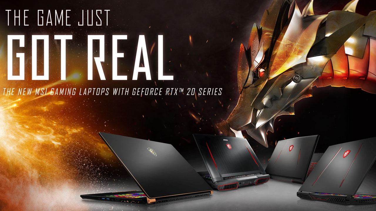 MSI: arrivano in Italia i primi notebook con GPU GeForce RTX thumbnail