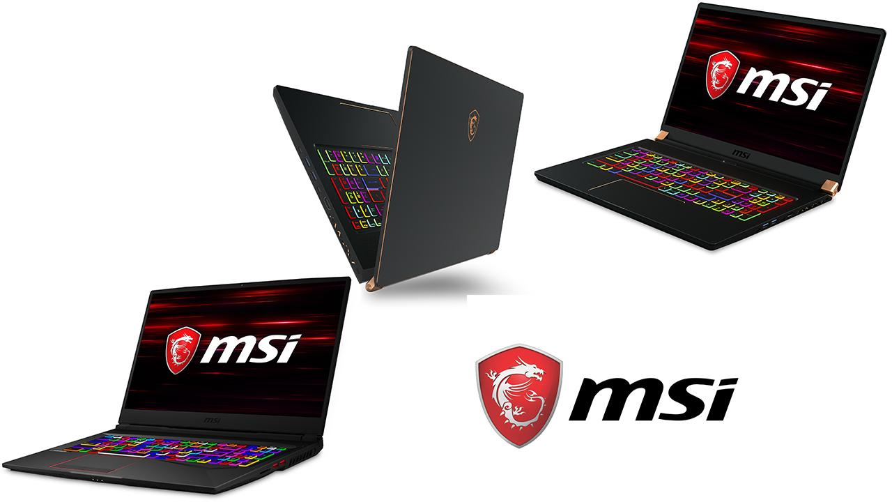 MSI: nuovi laptop gaming e un ultraportatile al CES 2019 thumbnail