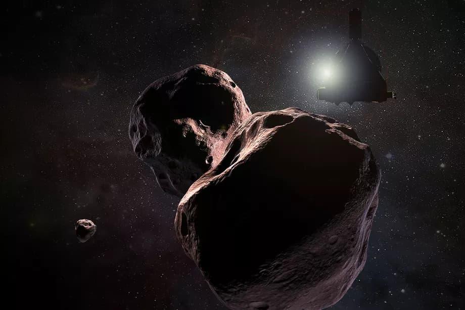 New Horizons Ultima Thule render