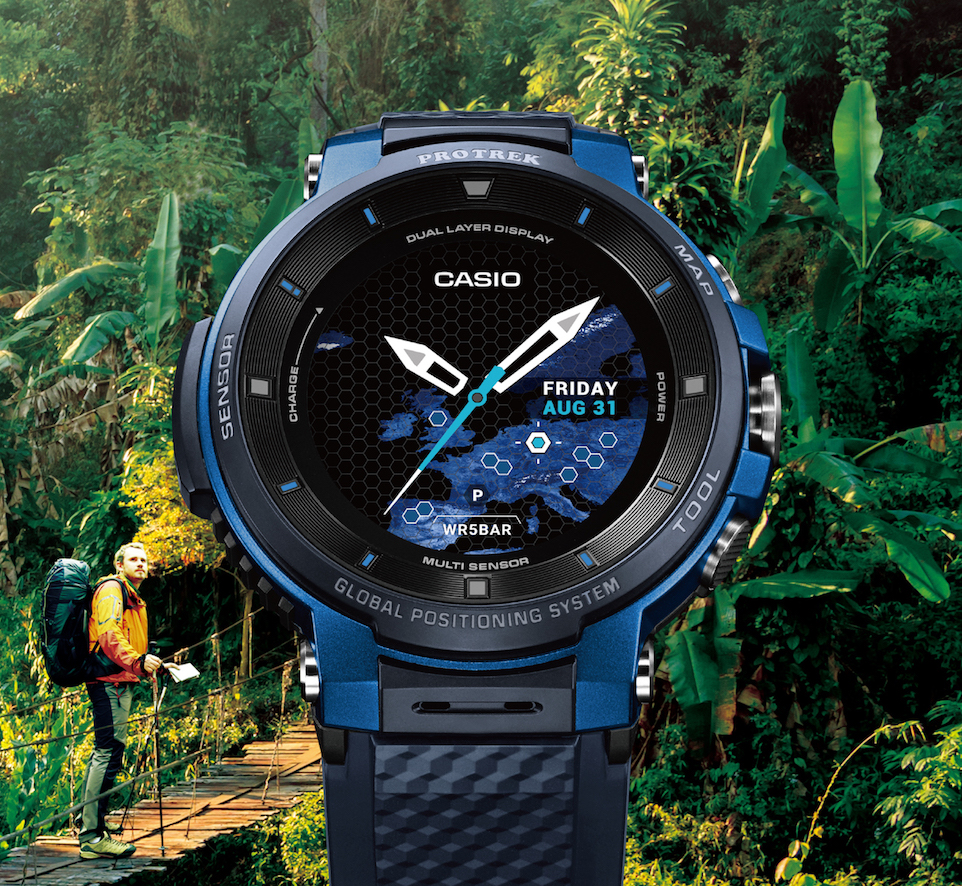 Casio presenta PRO TREK Smart WSD-F30, lo smartwatch per gli amanti dell'outdoor thumbnail