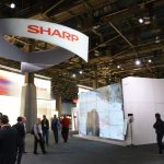 SHARP Stand CES