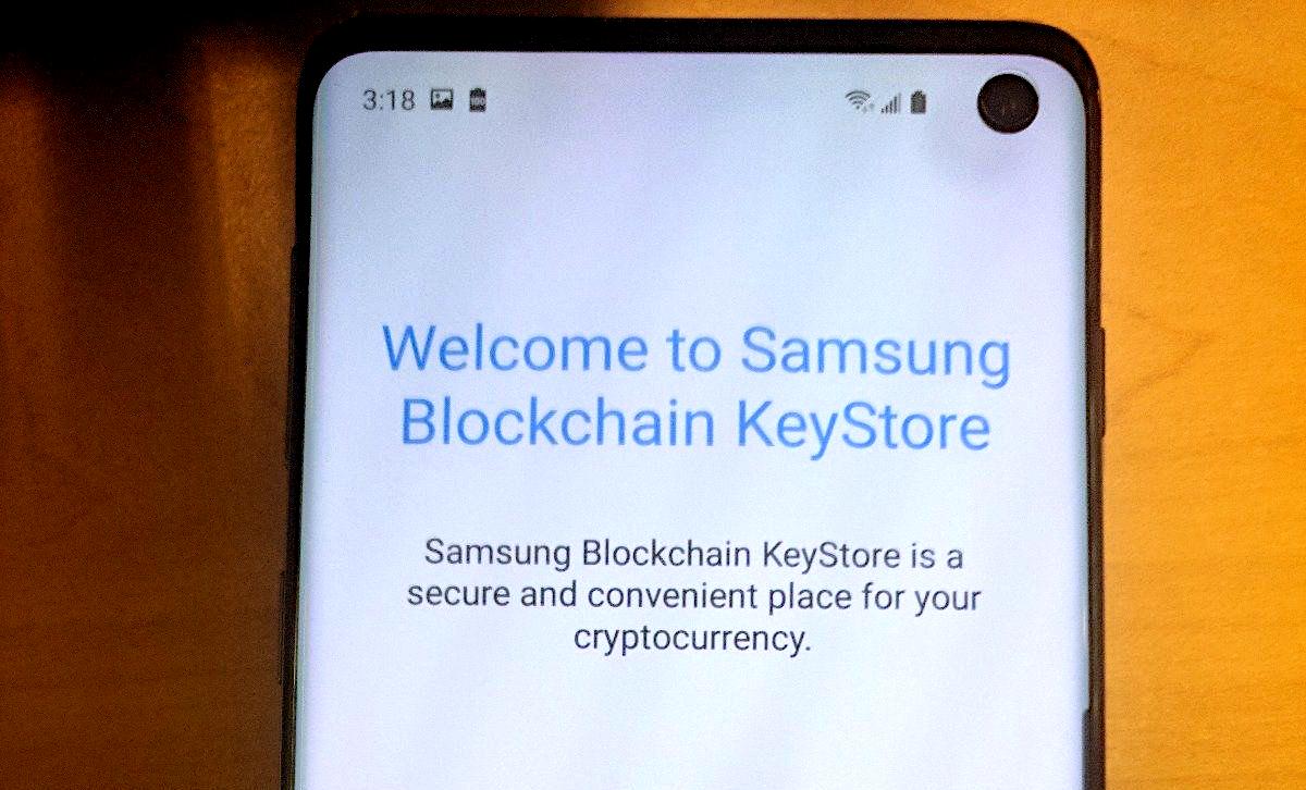 Galaxy S10 supporterà le criptovalute grazie al Samsung Blockchain KeyStore thumbnail