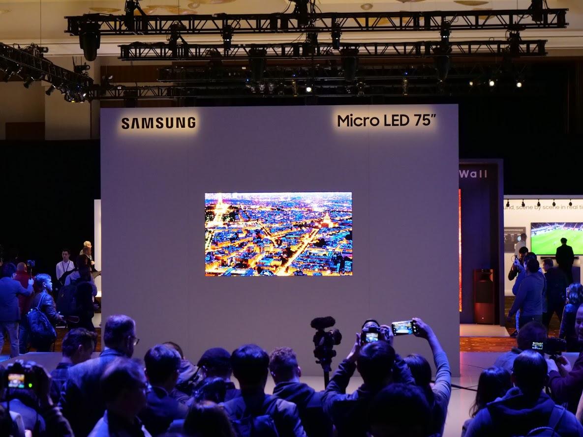 Samsung MicroLED: la TV del futuro è modulare | CES 2019 thumbnail