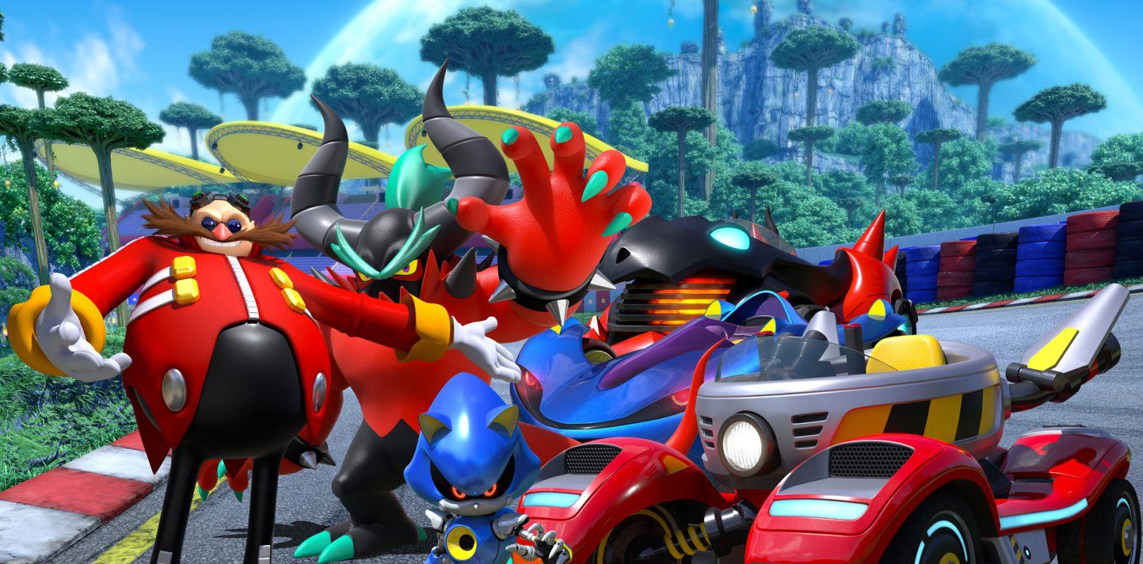 Team Sonic Racing: ecco il terribile Team Eggman thumbnail