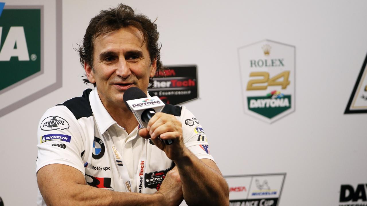 Alex Zanardi si prepara per la prossima gara: tocca alla 24 Ore di Daytona thumbnail