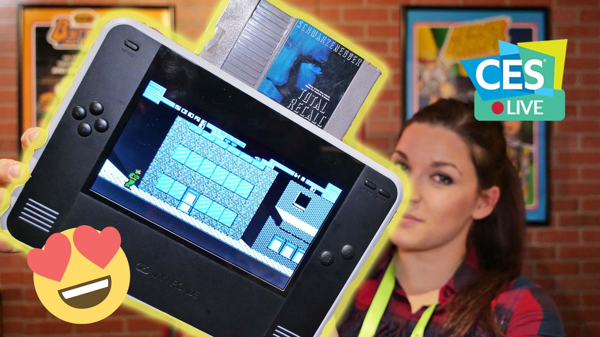 Anteprima Retro Champ: la console per giocare con le cartucce di NES | CES 2019 thumbnail