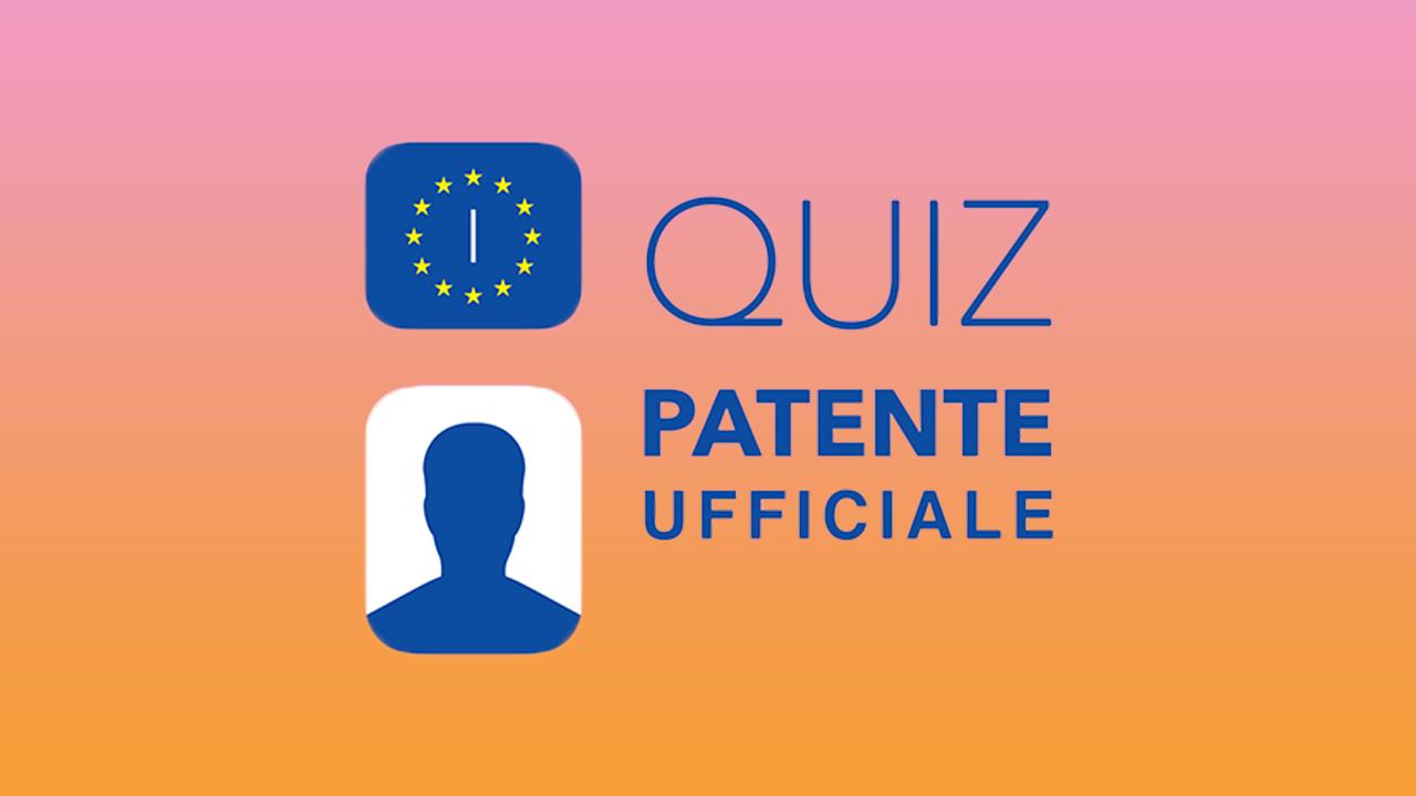 """Quiz Patente è prima in classifica per la categoria """"Istruzione"""" thumbnail"""