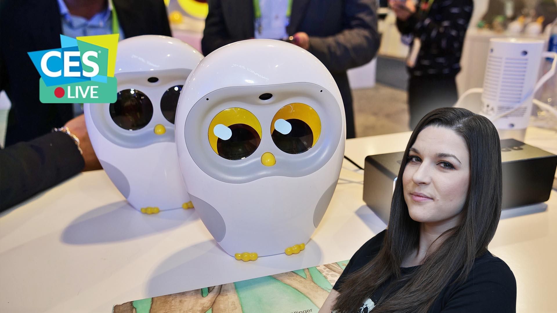 Luka: il robot che farà appassionare i bambini alla lettura | CES 2019 thumbnail