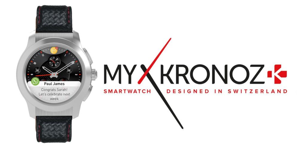 MyKronoz presenta due nuovi smartwatch a CES 2019 thumbnail
