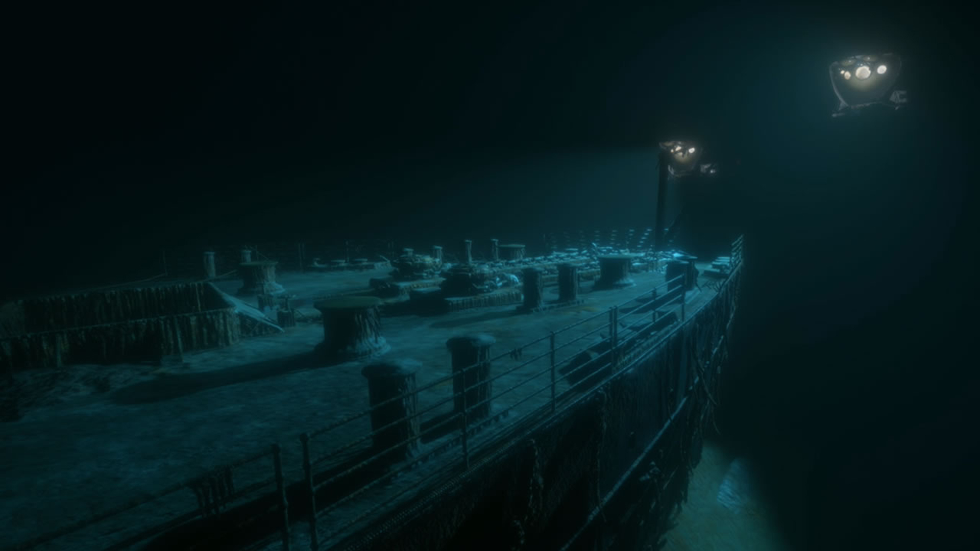 Visitare il Titanic in fondo all'oceano grazie al VR thumbnail