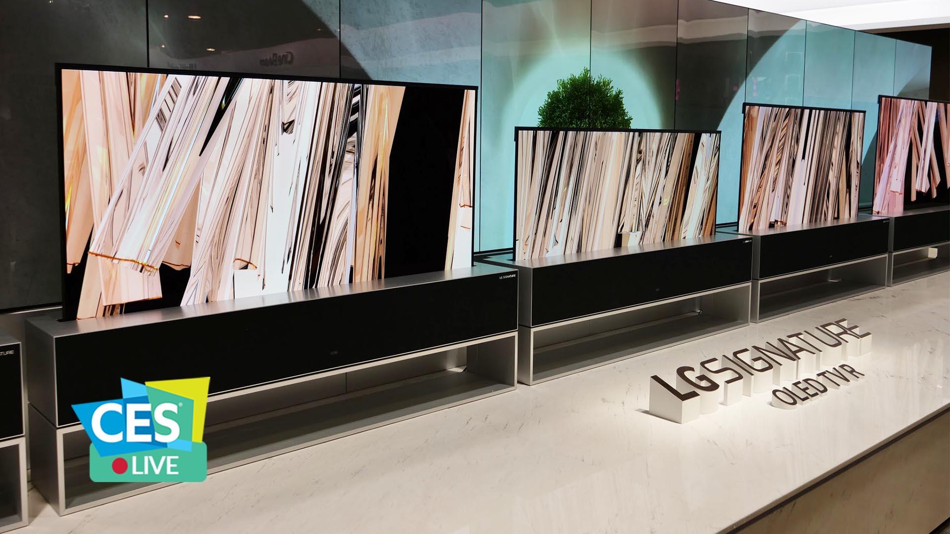 LG: il TV OLED arrotolabile è ufficiale, uscirà quest'anno | CES 2019 thumbnail