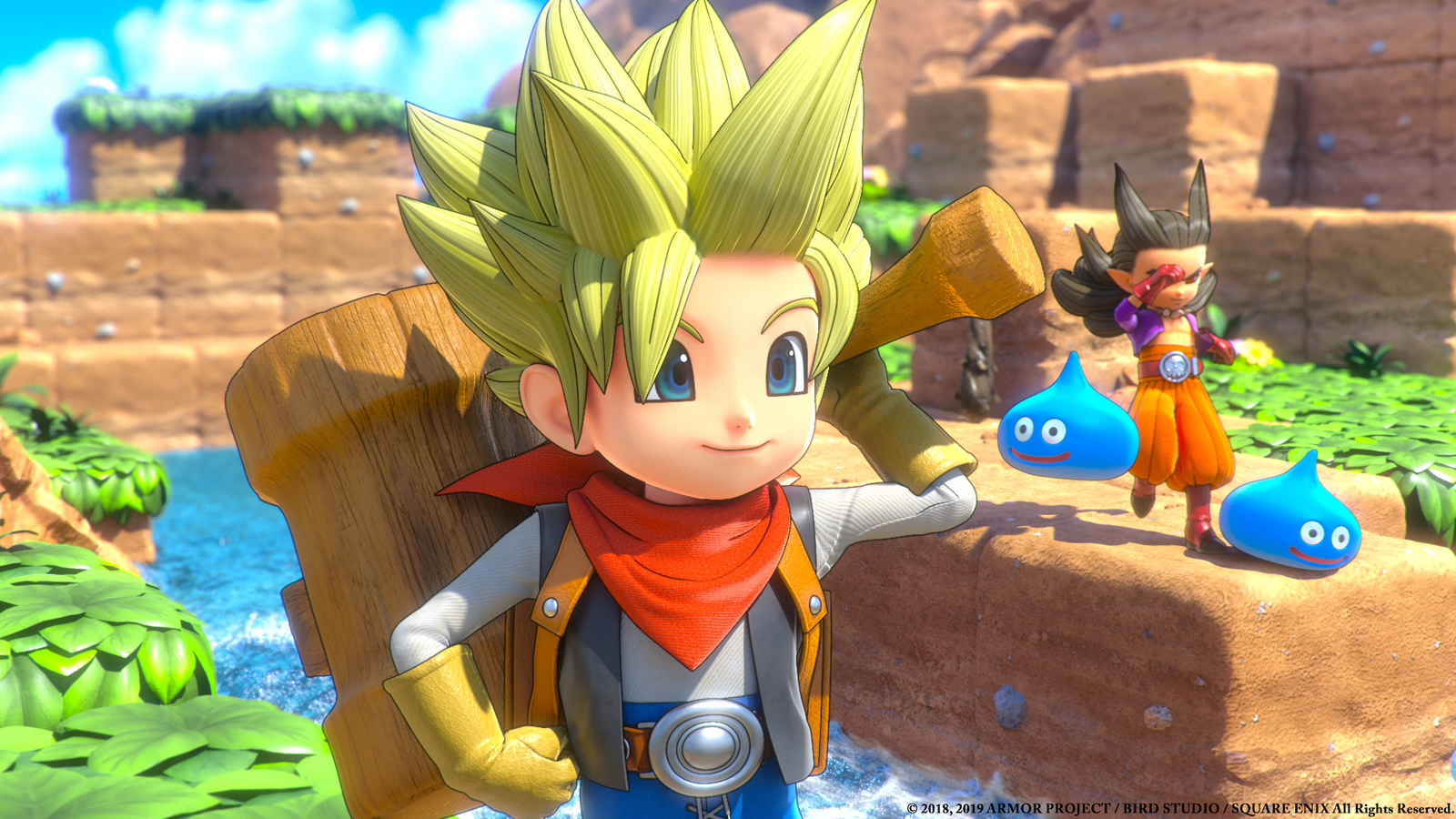 Dragon Quest Builders 2 arriva anche in Europa: trailer e data d'uscita thumbnail