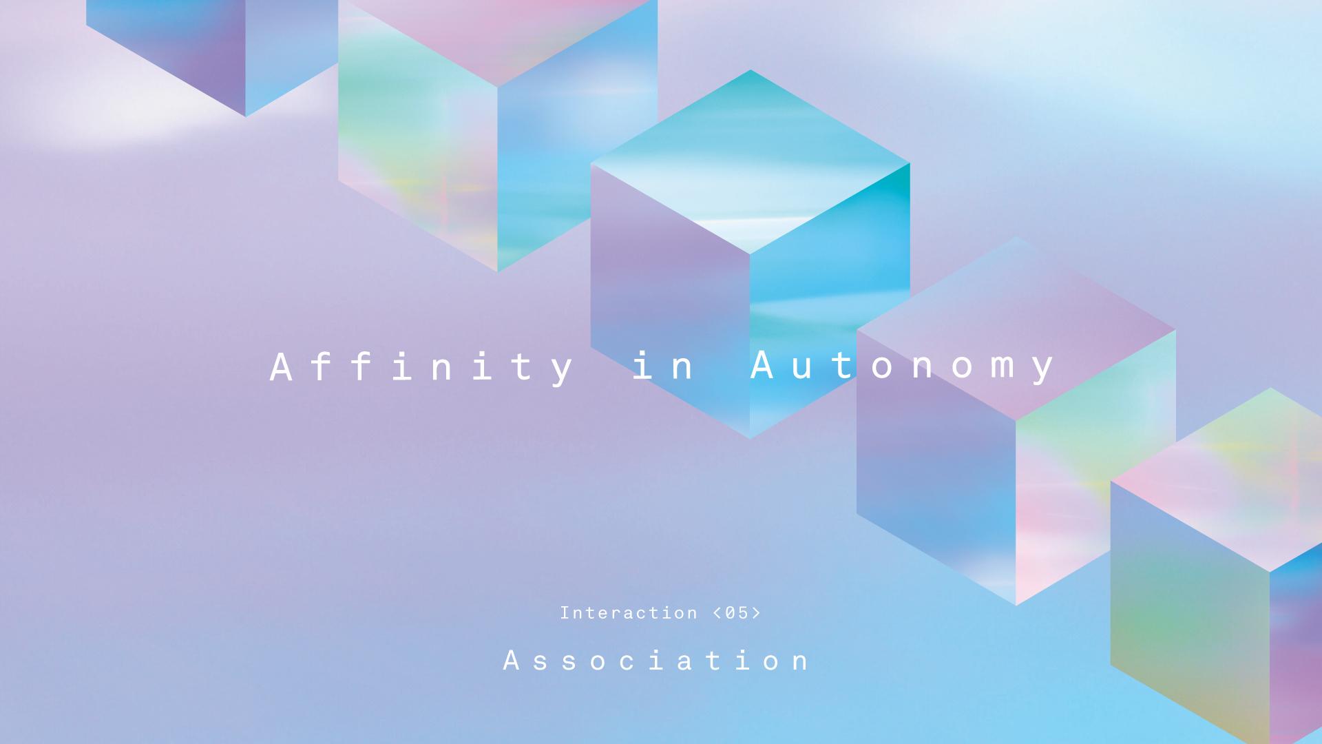 Sony Milano Design Week Affinity in Autonomy