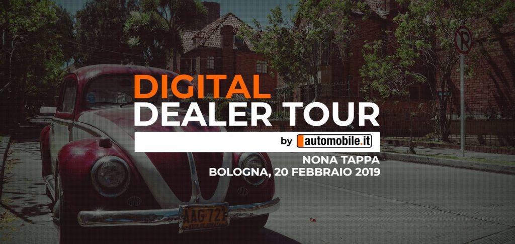 automobile.it: il 20 febbraio a Bologna con il Digital Dealer Tour thumbnail