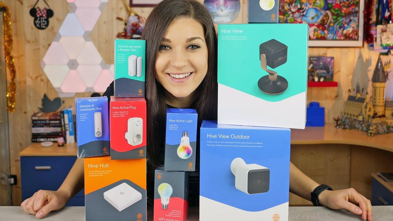9 prodotti Hive per la smart home: il nostro unboxing thumbnail