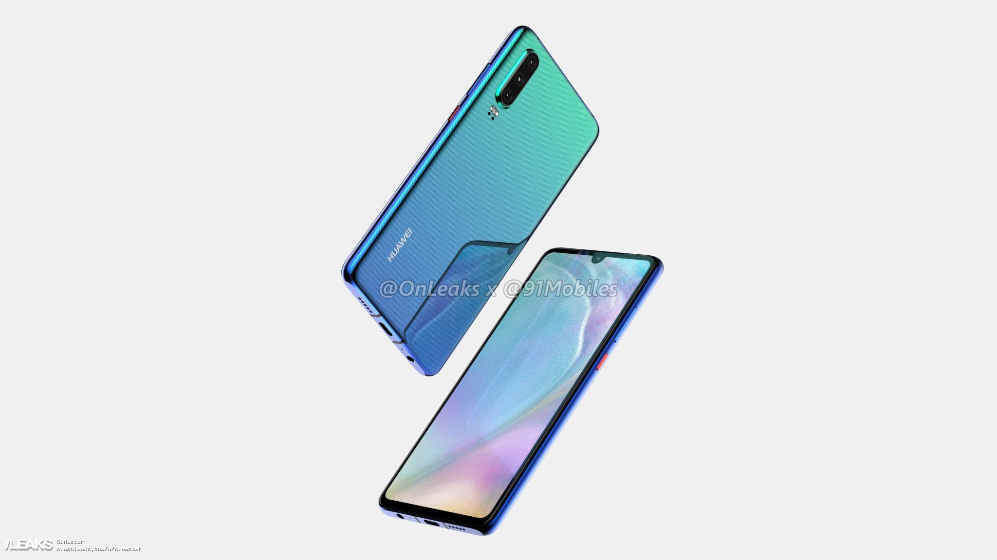 Trapelata la data di lancio della linea Huawei P30 thumbnail