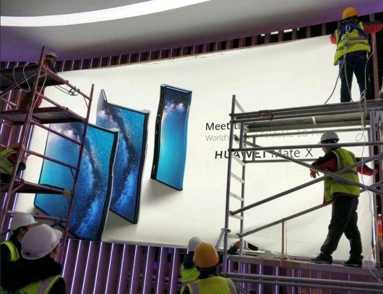 Svelato a sorpresa Huawei Mate X: schermo flessibile e 5G thumbnail