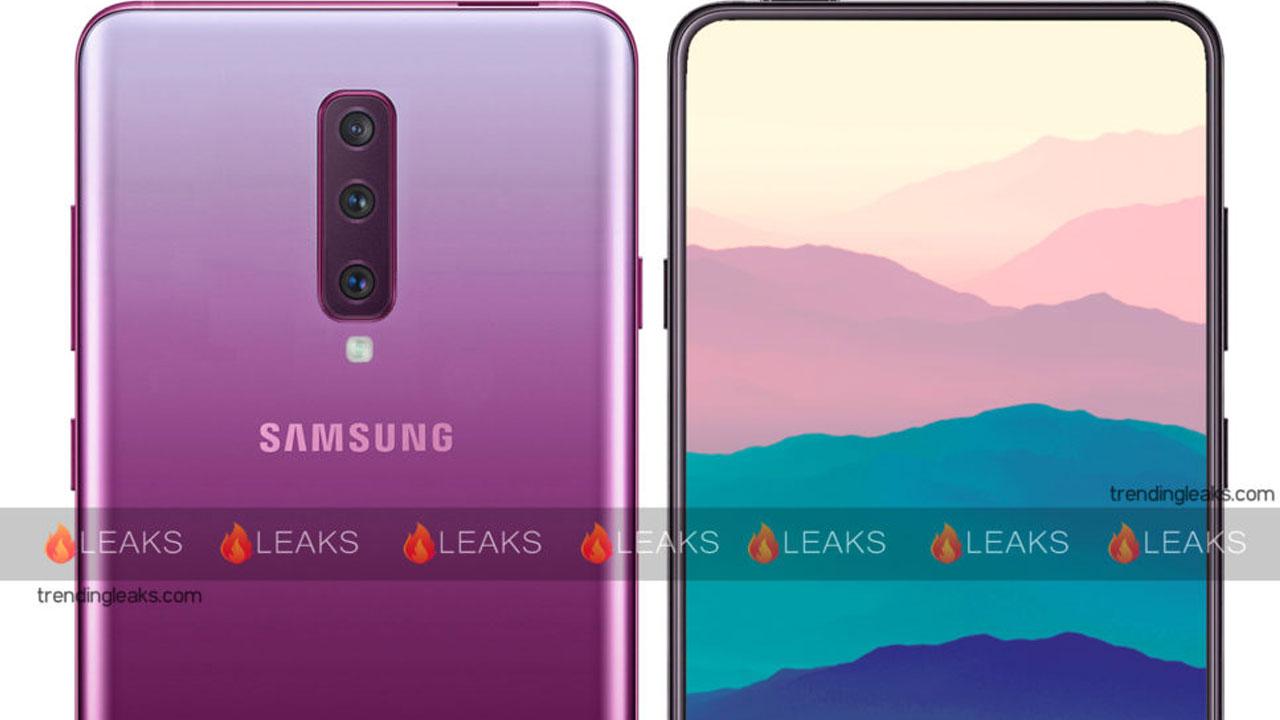 Fotocamera frontale pop-up per Samsung Galaxy A90 thumbnail