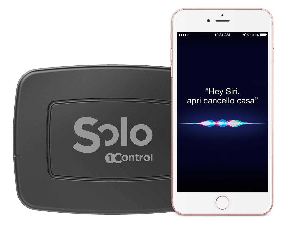 SOLO di 1Control implementerà i comandi vocali con Siri thumbnail