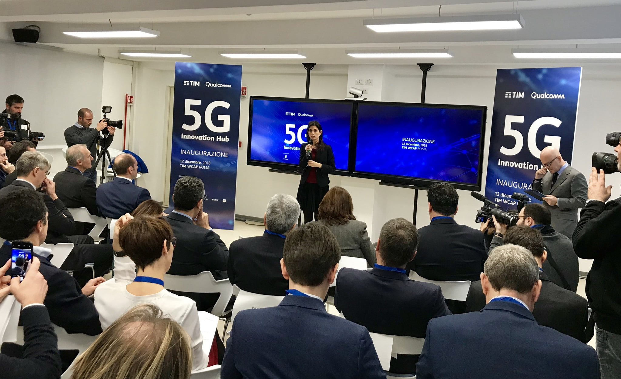 TIM e Qualcomm presentano lo streaming multi-view 5G thumbnail