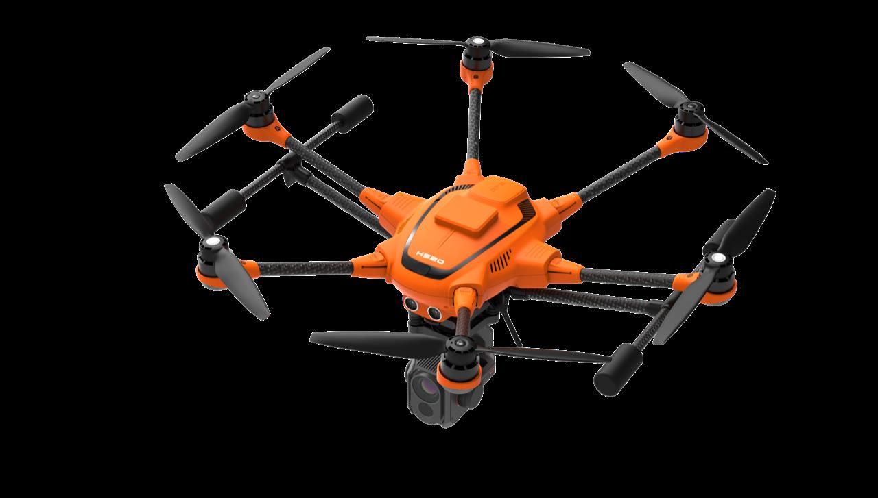 Yuneec H520: da ora è equipaggiato con sistema RTK thumbnail