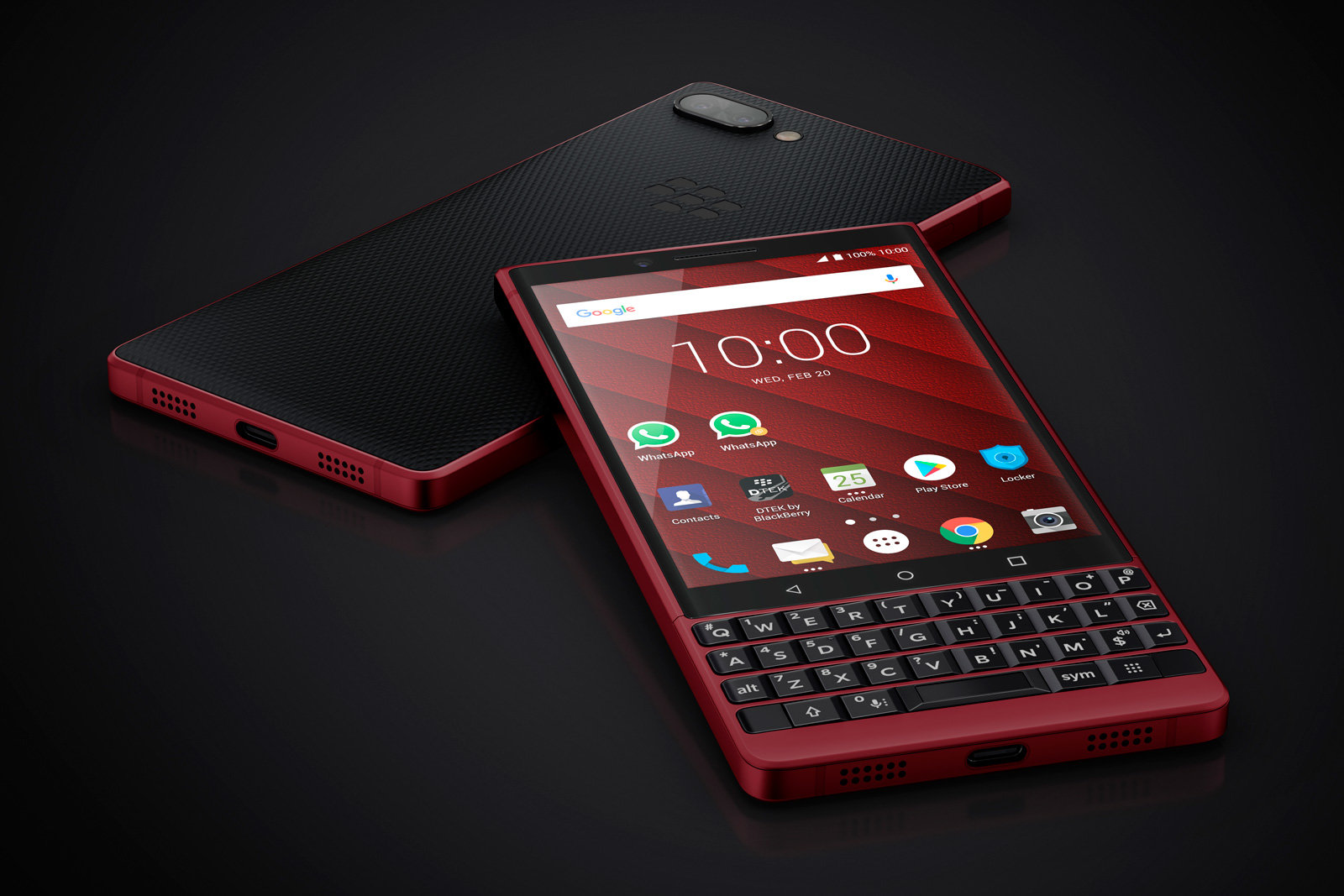 BlackBerry KEY2 Red Edition arriva al MWC 2019 thumbnail