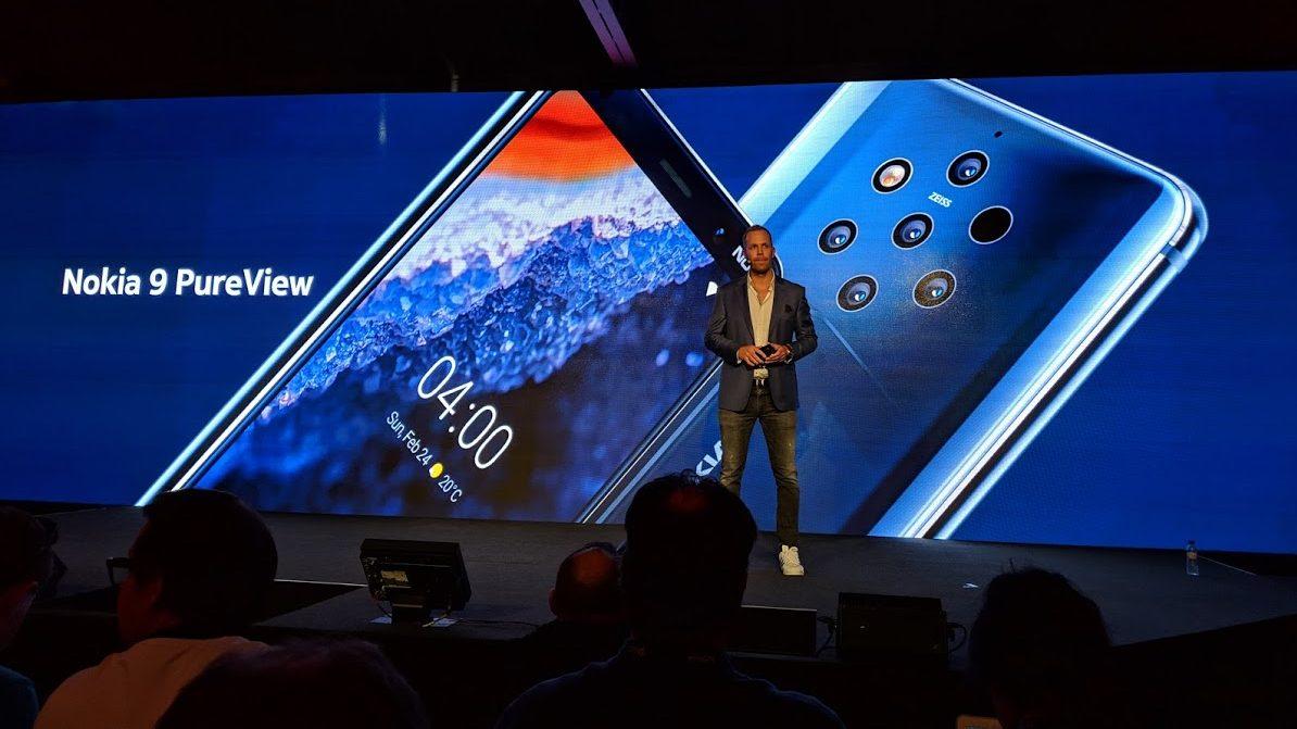 Nokia 9 PureView ufficiale: 5 fotocamere e prezzo sotto i 700 euro | MWC 2019 thumbnail