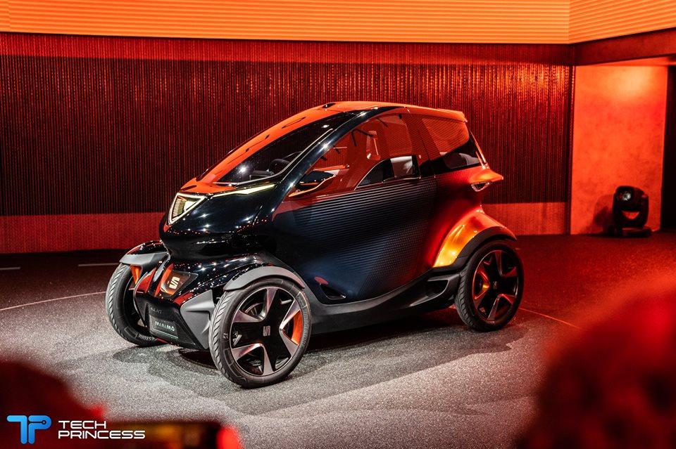 Seat Minimo: la concept car che proietta Seat nel futuro | MWC 2019 thumbnail