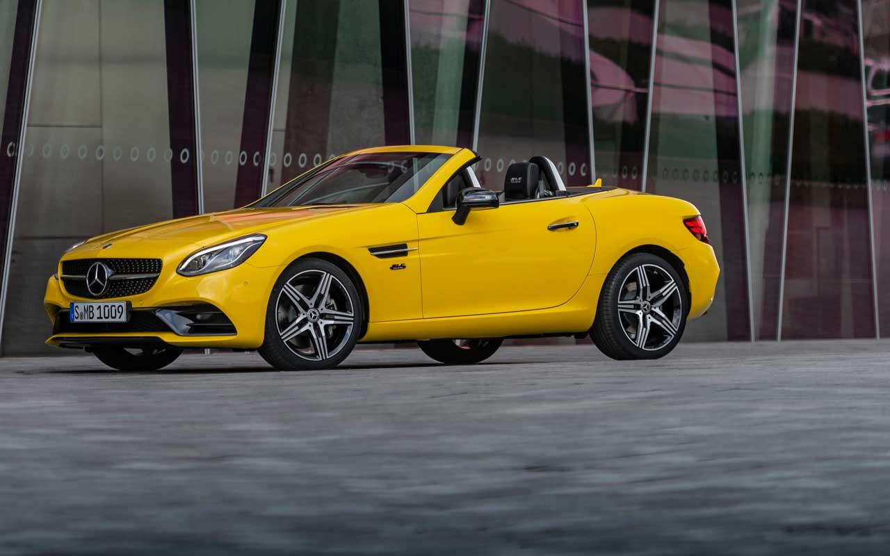 Mercedes-Benz: ecco la nuova SLC Final Edition thumbnail