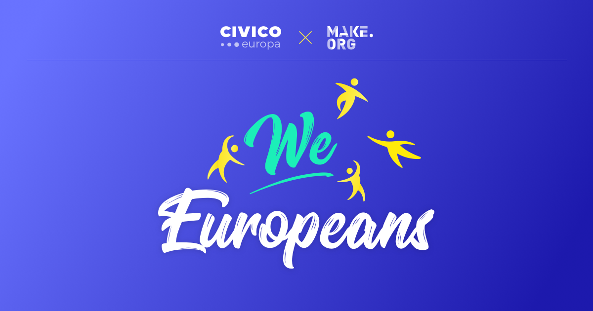 WeEuropeans: la più ampia consultazione civica in Europa thumbnail