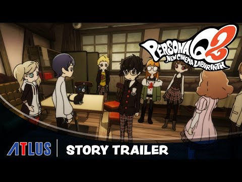 Persona Q2: New Cinema Labyrinth si mostra nel nuovo story trailer thumbnail