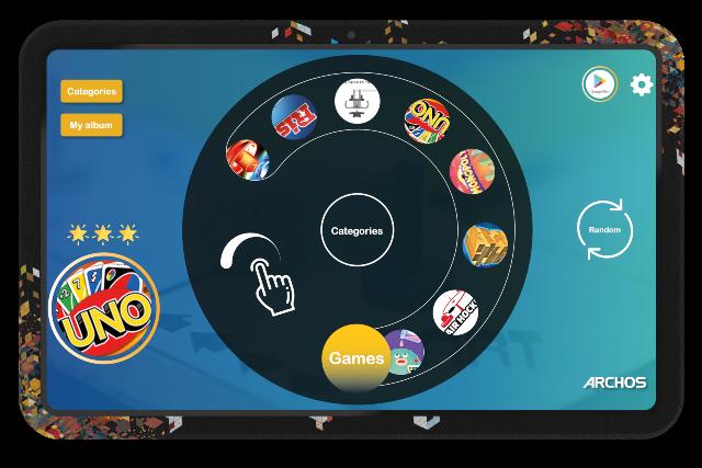 ARCHOS Play Tab: arrivano i giochi da tavolo digitali thumbnail