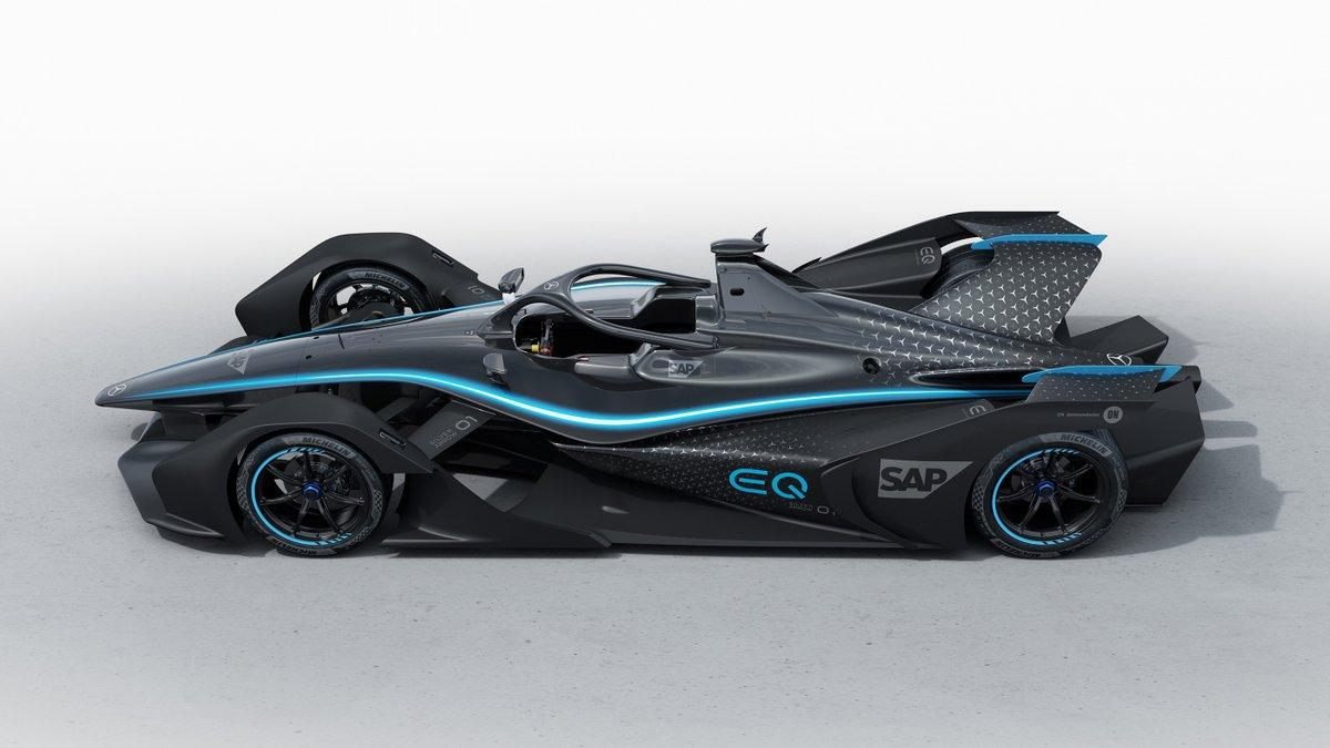 Mercedes Silver Arrow Formula E