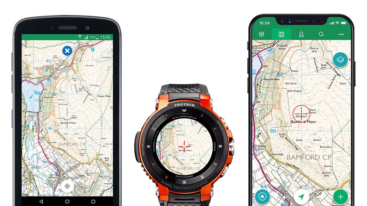 ViewRanger: si rafforza l'integrazione con gli smartwatch di Casio thumbnail