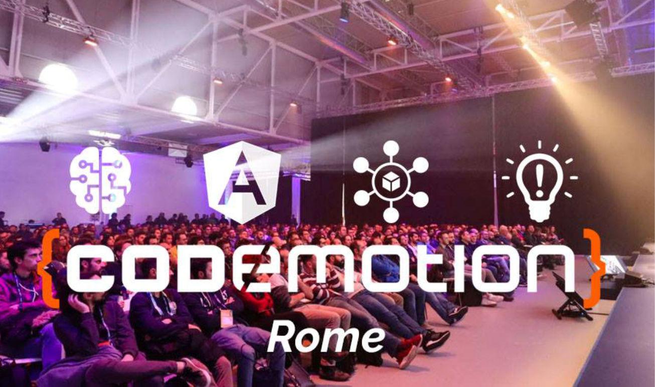 Codemotion Rome 2019: torna l'evento dedicato agli sviluppatori software thumbnail