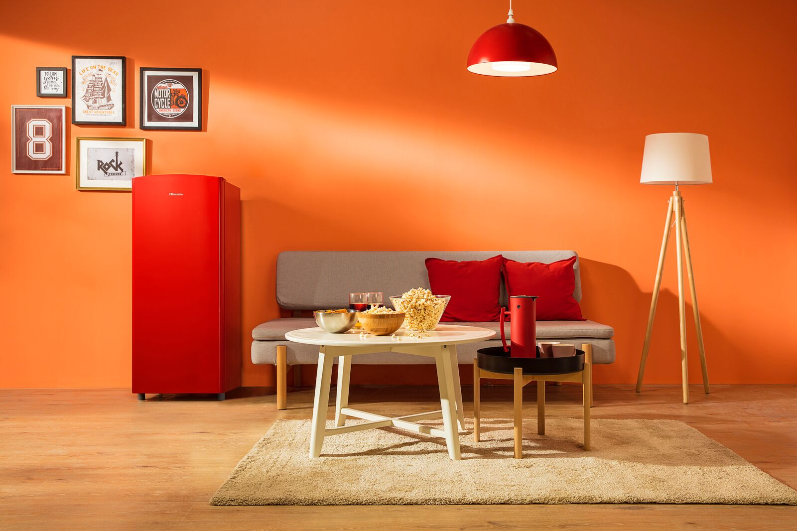 Hisense porta lo stile in cucina con i suoi frigoriferi Pop thumbnail
