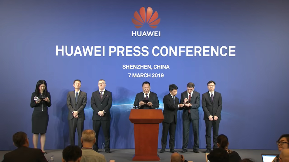 Huawei conferenza causa USA