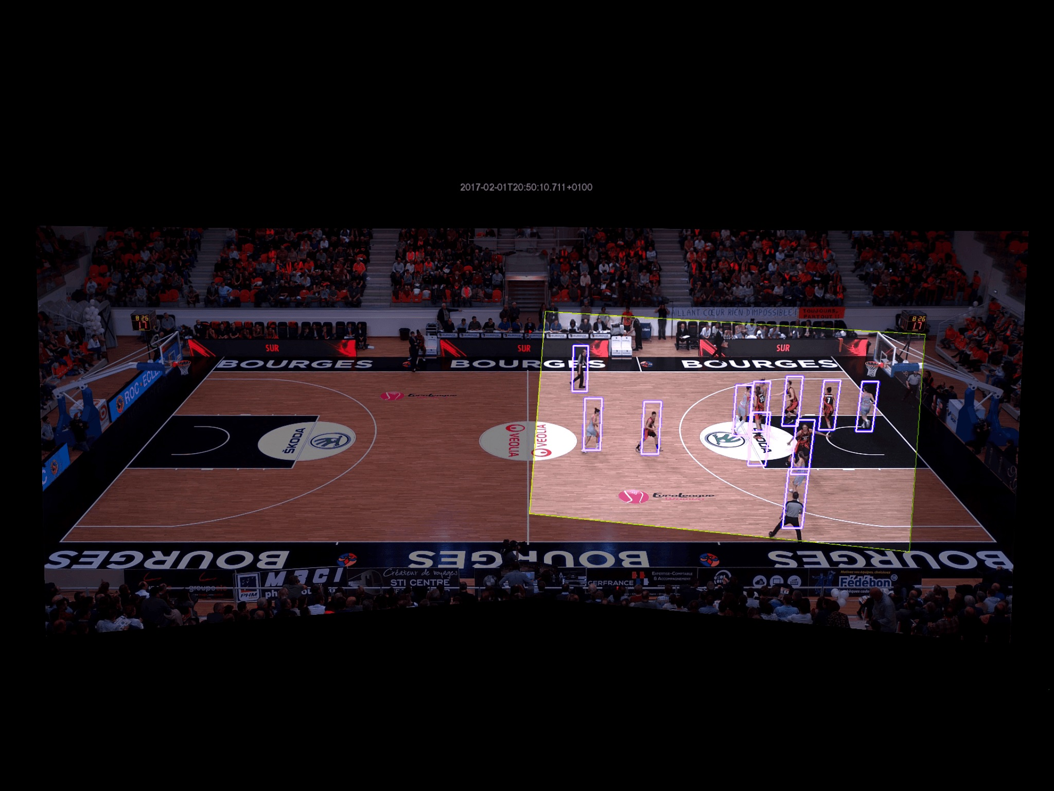 Il basket universitario diventa più intelligente grazie all'AI thumbnail