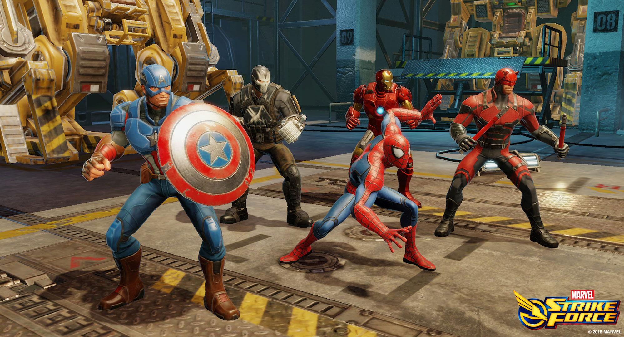 Marvel Strike Force raggiunge cifre da record in un solo anno thumbnail