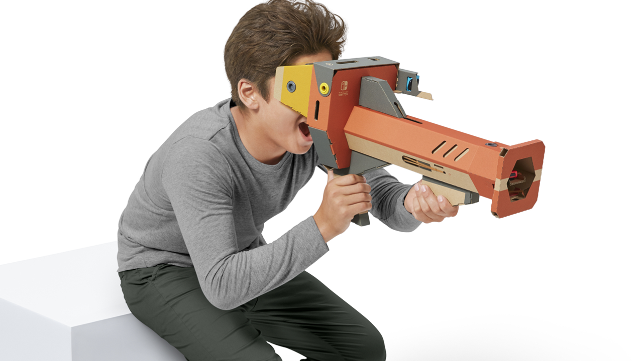 Nintendo Labo: Kit VR, finalmente la realtà virtuale approda su Nintendo Switch thumbnail