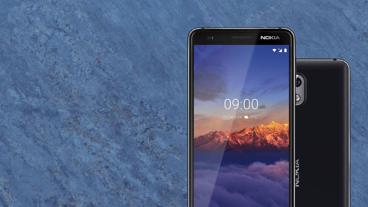 Nokia 3.1: al via l'aggiornamento ad Android 9 Pie thumbnail