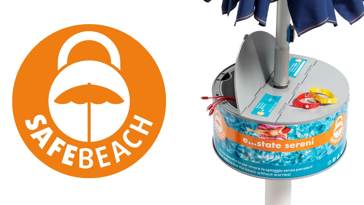 Safebeach:  la cassaforte hi-tech da spiaggia thumbnail