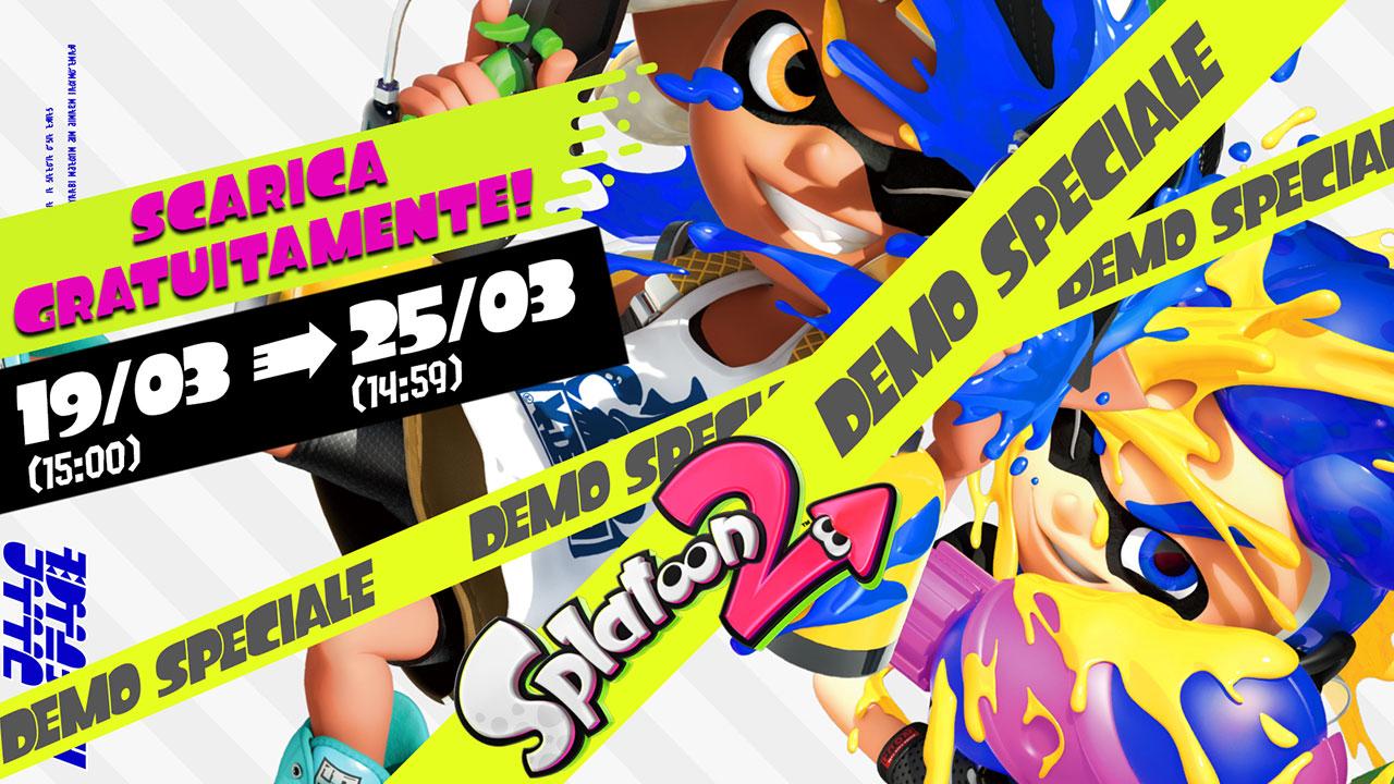 Splatoon 2: provalo con la demo speciale disponibile fino al 25 marzo thumbnail