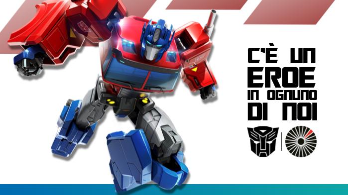 """""""C'è un Eroe in ognuno di Noi"""": la campagna Hasbro e i Transformers sostengono i donatori di midollo osseo thumbnail"""